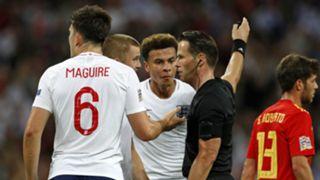 England Spain referee 2018-19