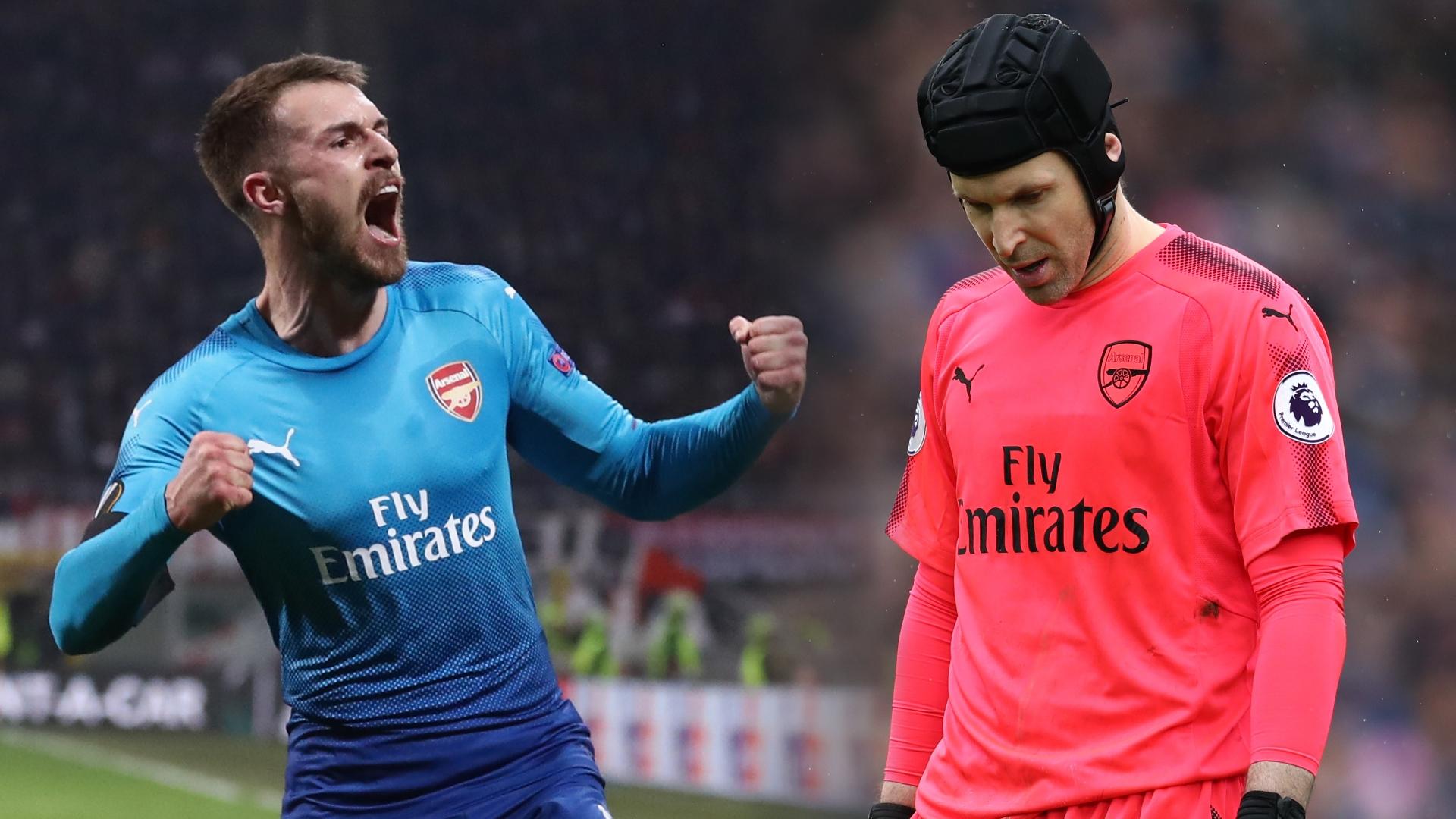 Aaron Ramsey, Petr Cech, Arsenal
