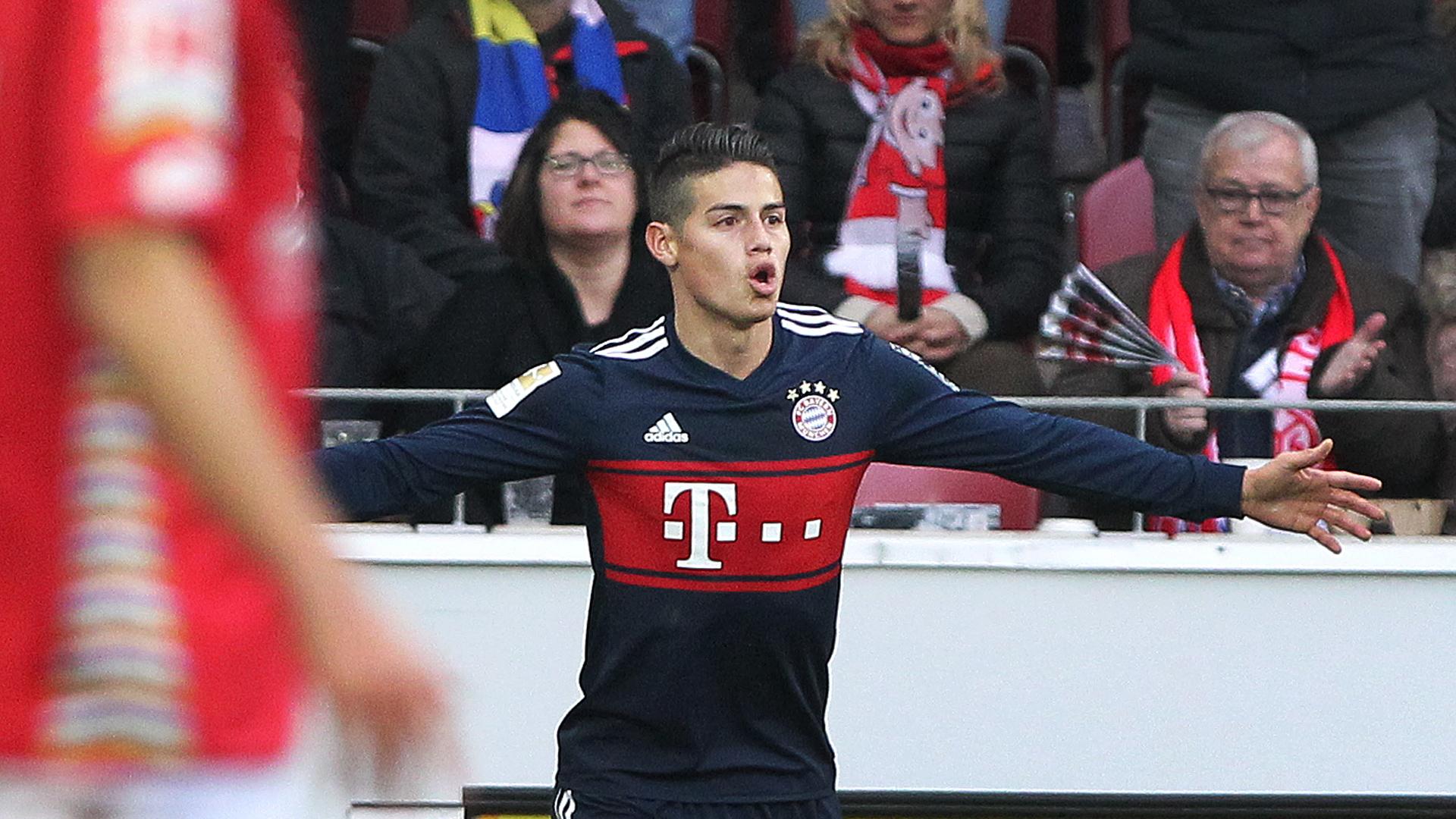 James Rodriguez Mainz 05 FC Bayern