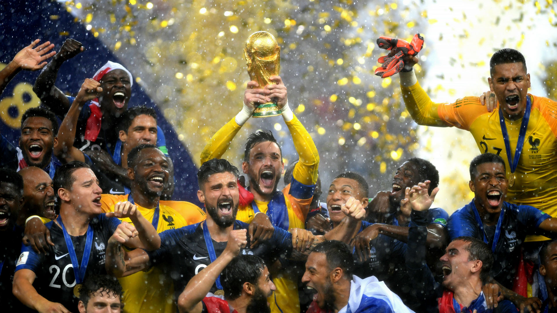 France Croatia World Cup 15072018