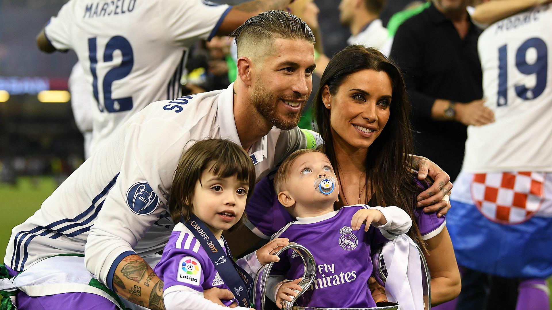Sergio Ramos Pilar Rubio Real Madrid