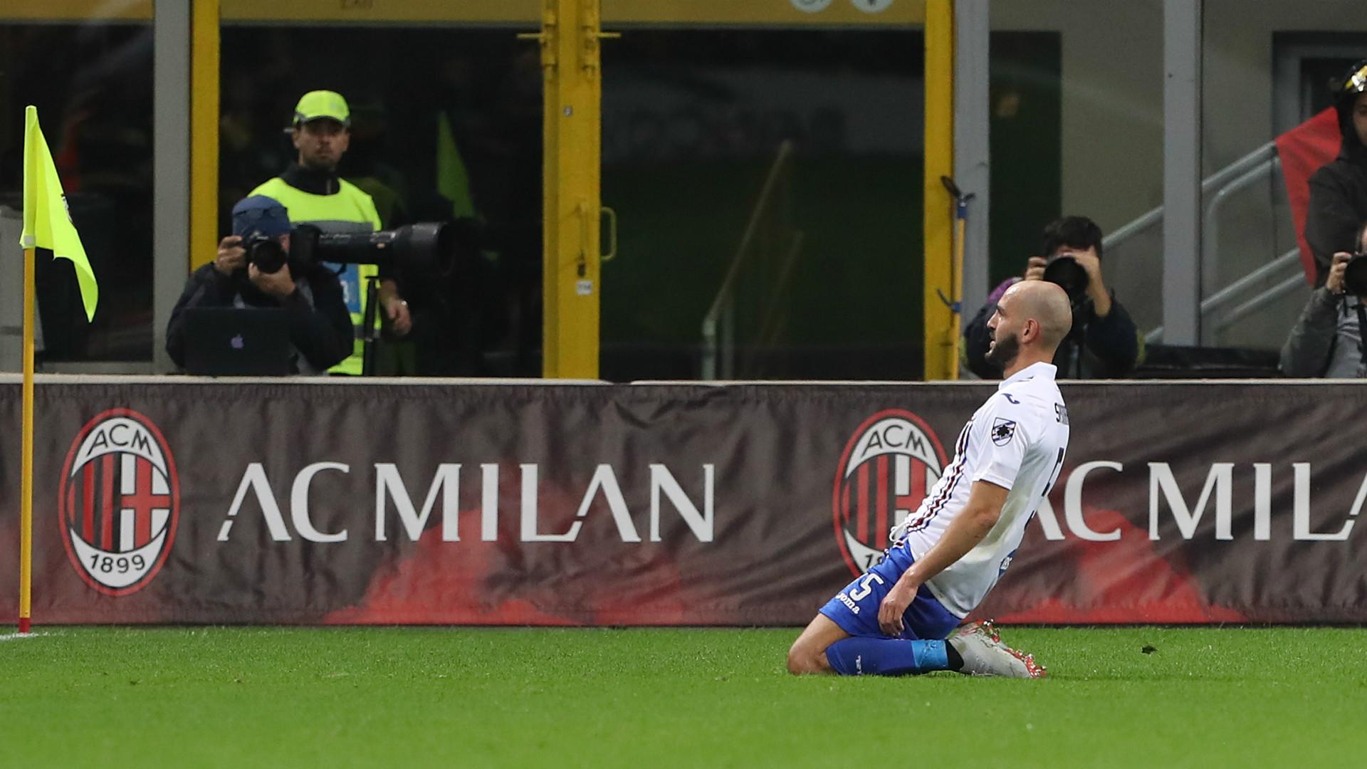 Saponara Milan Sampdoria