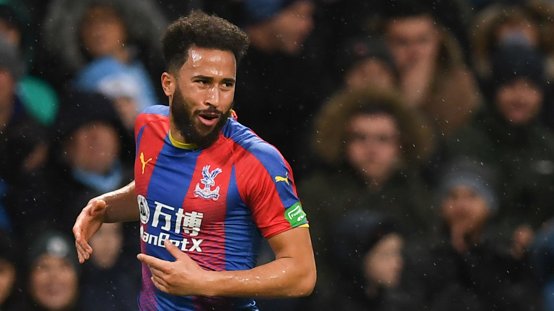 Andros Townsend wins Premier League Goal of the Season award