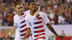 Weston Mckennie USA USMNT Curacao Gold Cup 2019
