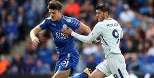 Harry Maguire, Leicester City, Alvaro Morata, Chelsea