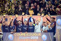 Paris Saint-Germain : Coupe de la Ligue Winners 2018