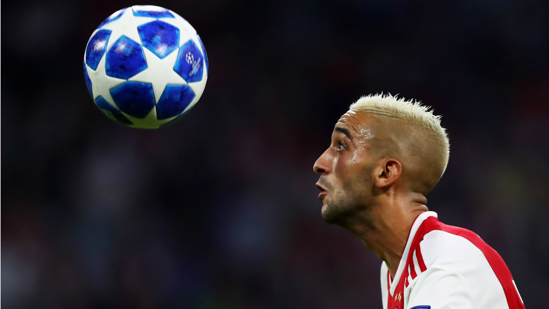 Hakim Ziyech - Ajax vs. Dynamo Kyi, Uefa Champions League playoffs