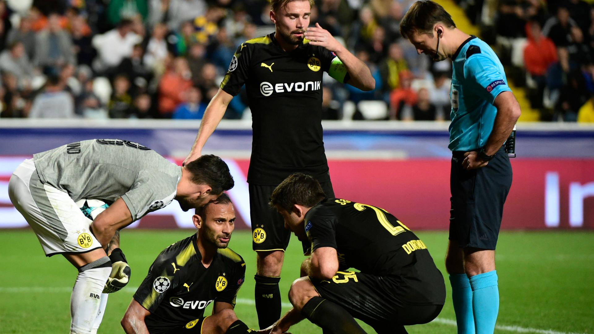 Ömer Toprak Borussia Dortmund 17102017