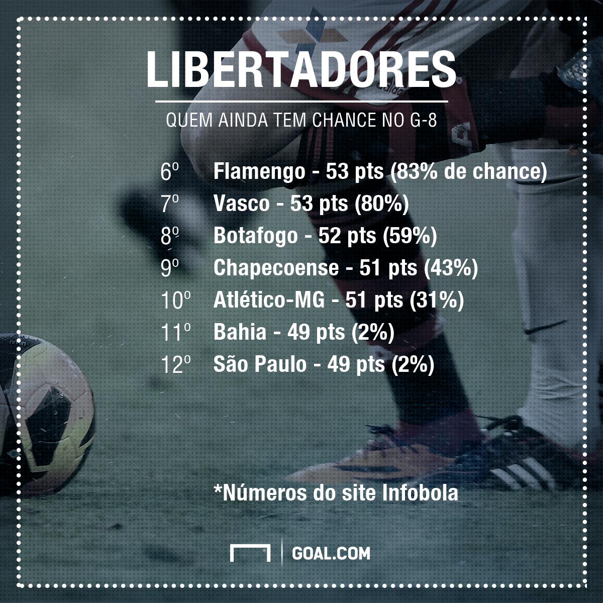 GFX Libertadores G8 chances