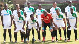 Mathare United squad.
