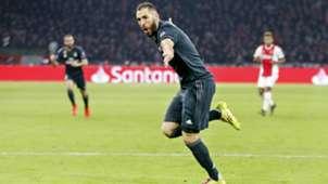 Karim Benzema Ajax - Real Madrid 02132019