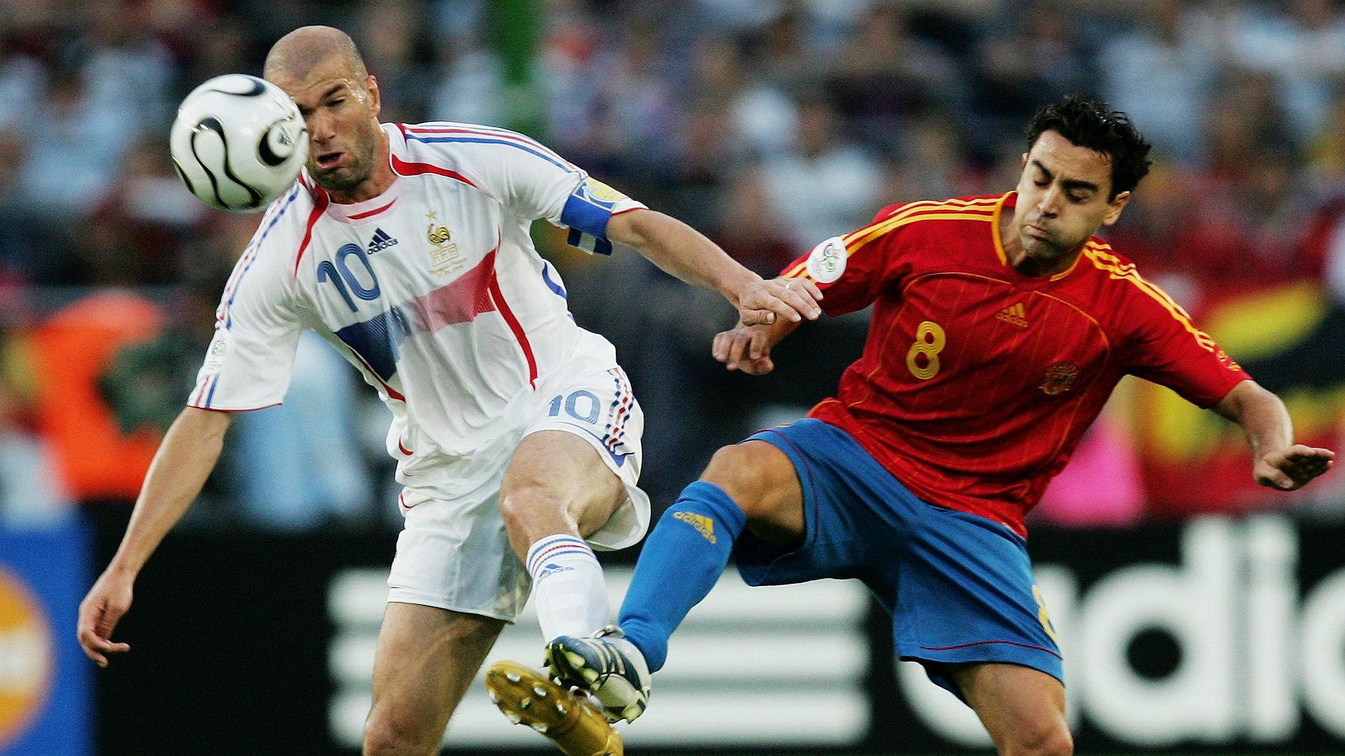 Zidane Xavi