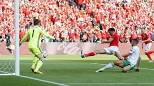 McAuley own goal Wales Northern Ireland Euro 2016