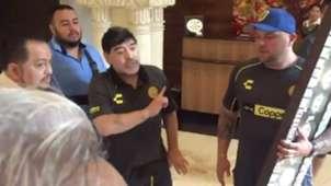 Maradona pelea periodistas 170918