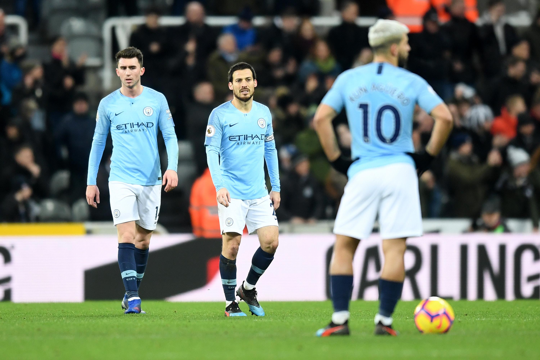 Newcastle United Manchester City Premier League 01/29/19