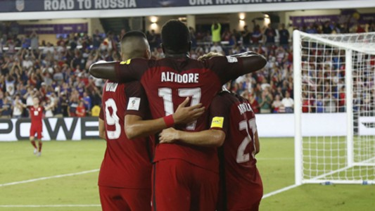 Jozy Altidore Bobby Wood USA Panama