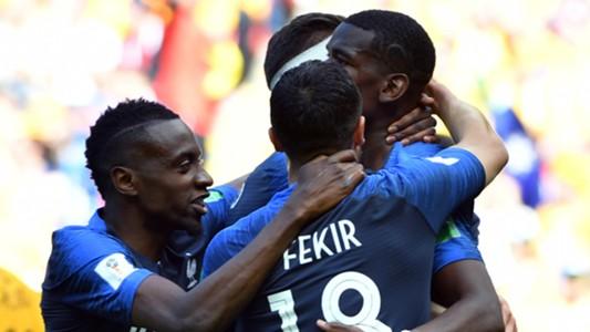 France Celebrating 2018 World Cup