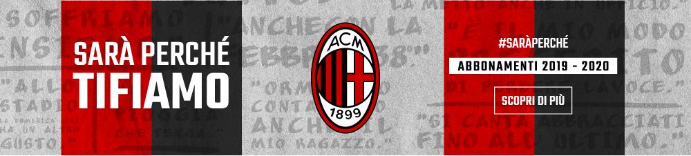 Banner AC Milan