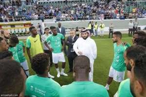 تركي آل الشيخ - المنتخب السعودي