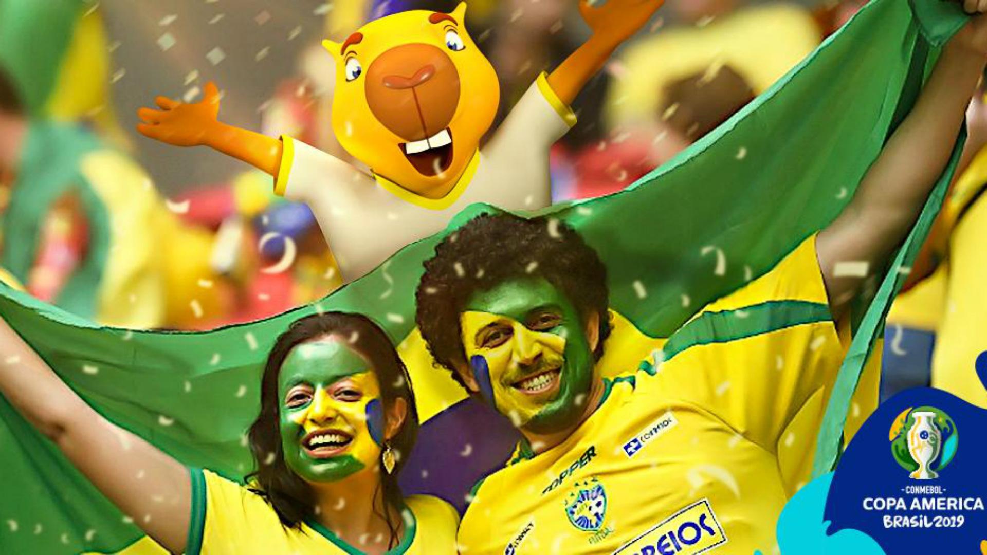 Zizito mascota Copa America 2019