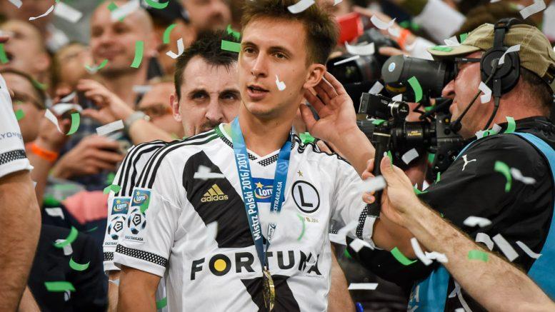 Nagy Dominik bajnok Legia Varsó