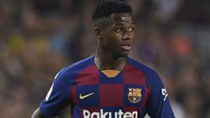 Guinea-Bissau teenager Anssumane Fati makes Barcelona debut in Real Betis thumping