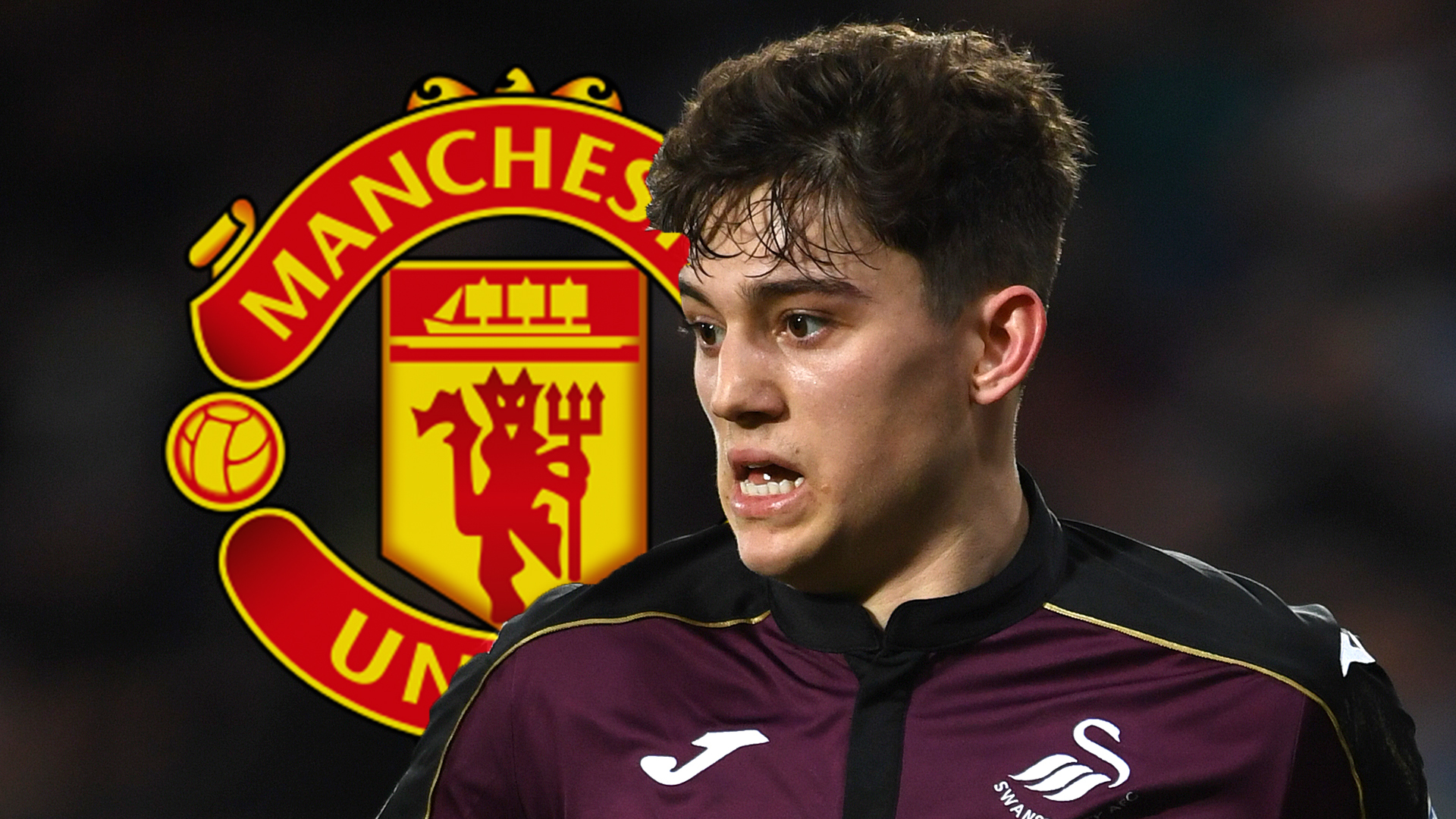 Daniel James Man Utd GFX