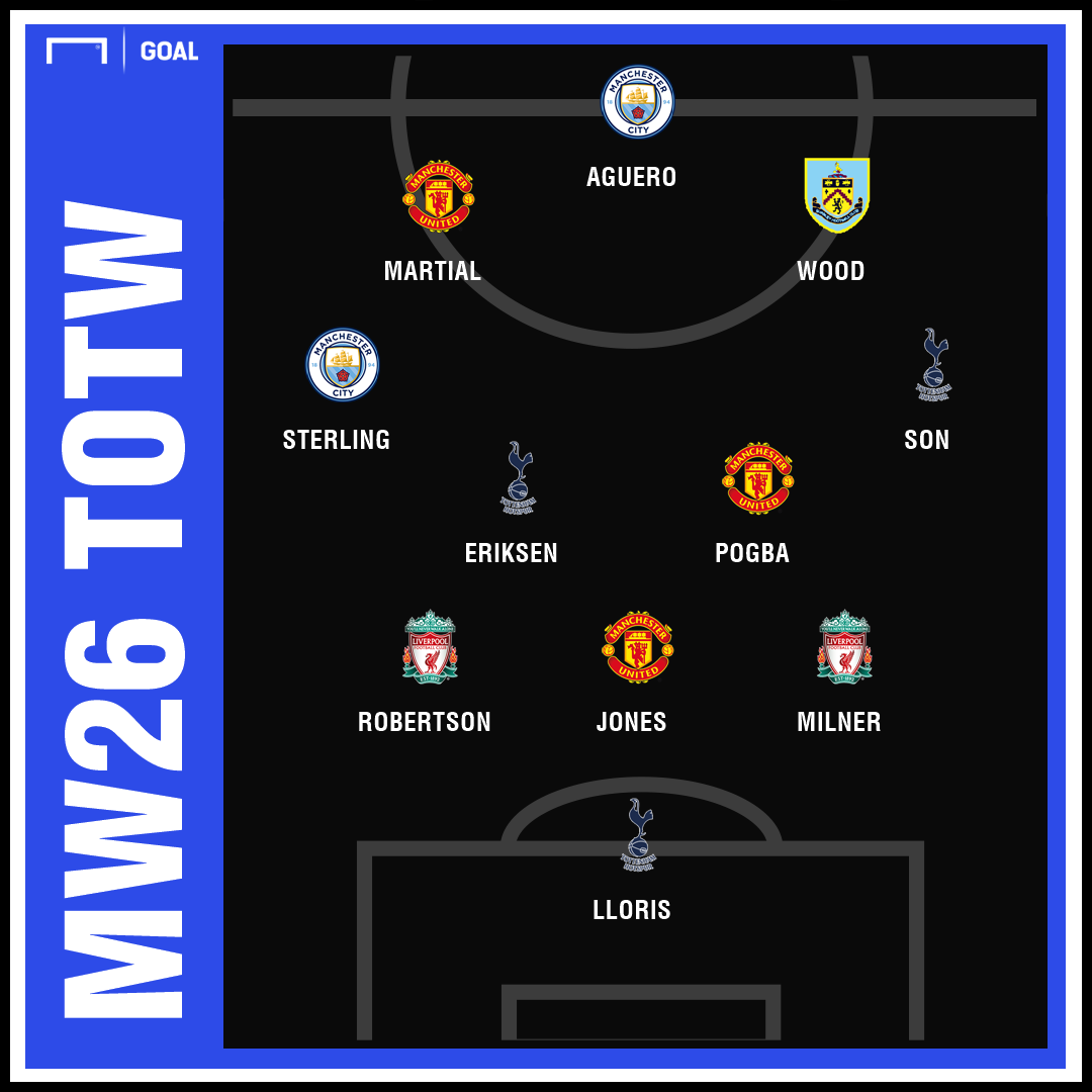 Fantasy team of the week matchweek 26