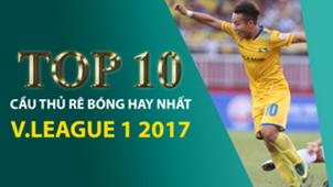 Top 10 rê bóng V.League