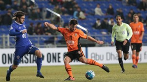 Tommy Oar Ulsan v Brisbane Roar AFC Champions League 28022017