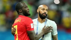 Romelu Lukaku Thierry Henry Belgium 2018