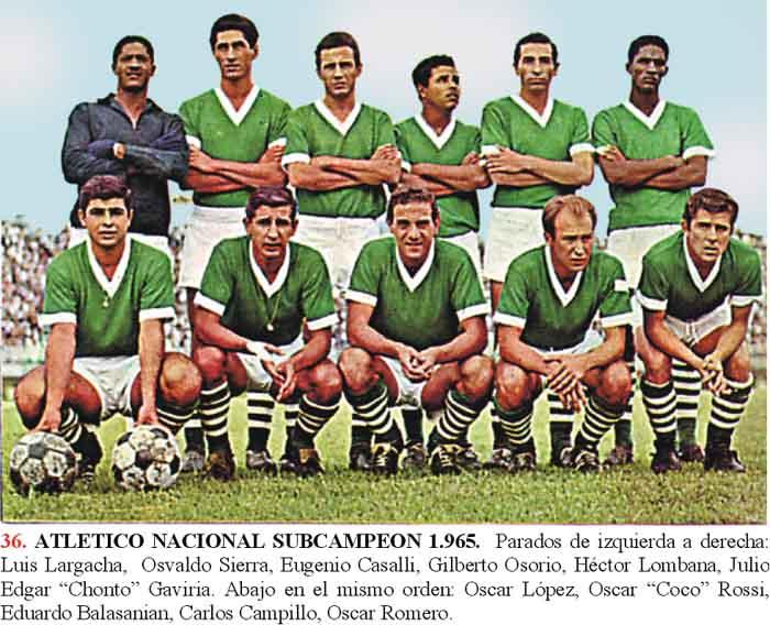 Gilberto osorio Atlético Nacional