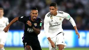 Raphael Varane Real Madrid vs Al Ain Club World Cup 2018