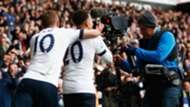 Harry Kane, Dele Alli, Tottenham, TV camera, 2017