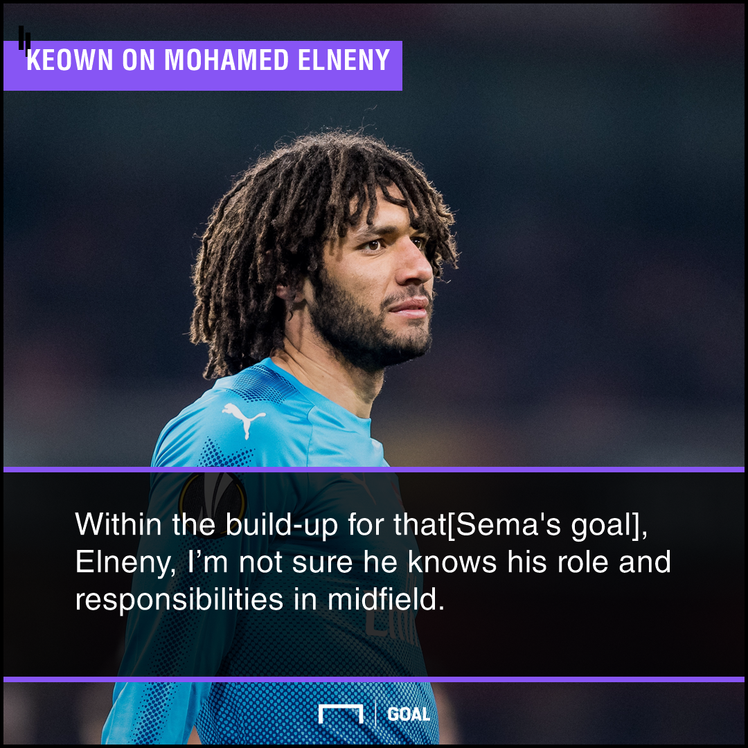 Keown - Elneny PS