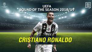 Cristiano Ronaldo: 2018-19 UEFA Champions League Squad of the Season - Forwards