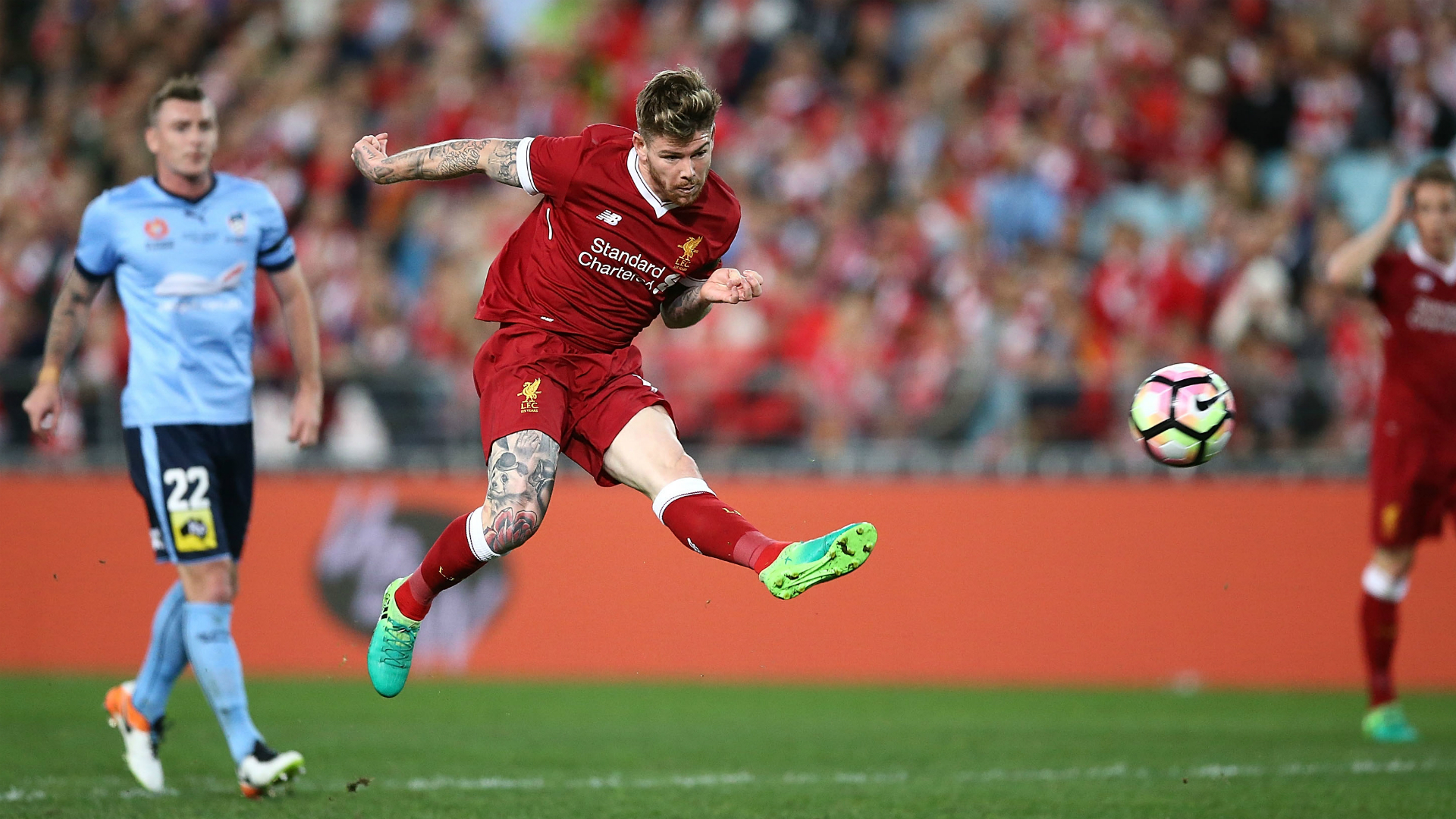 Alberto Moreno Sydney FC v Liverpool Friendly 24052017