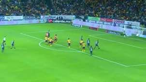 Gol tiro libre Nico Castillo vs Morelia