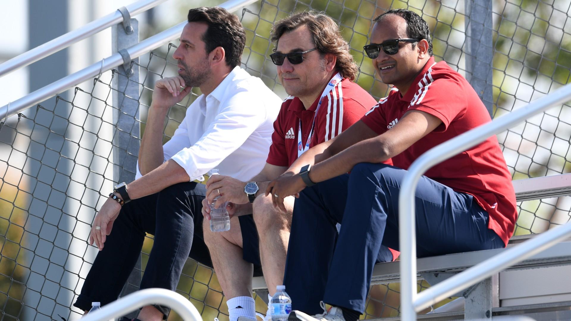 Edu, Raul Sanllehi, Vinai Venkatesham, Arsenal