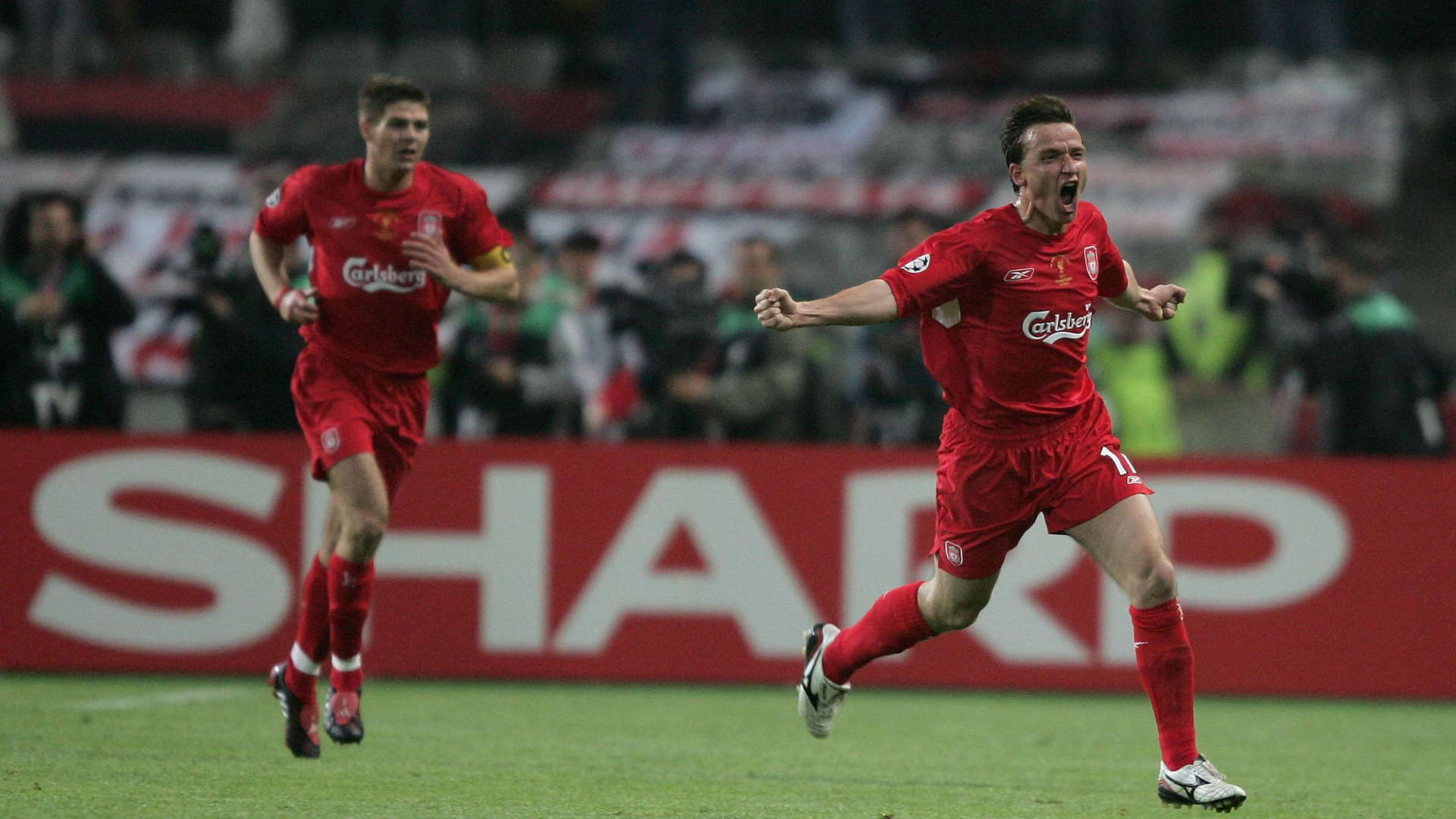 Vladimir Smicer Liverpool Champions League