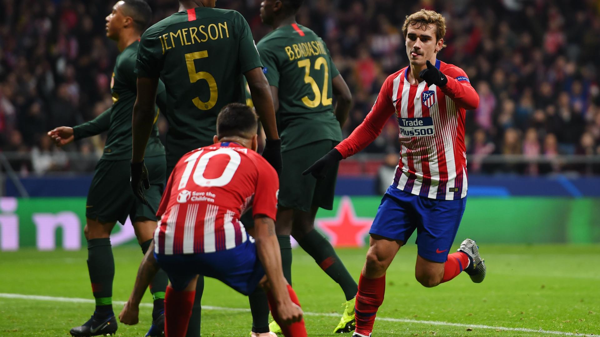 Antoine Griezmann Atletico Madrid - Monaco Champions League 11282018