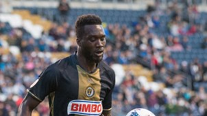 CJ Sapong Philadelphia Union MLS 040817