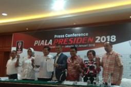 Jumpa Pers Piala Presiden 2018