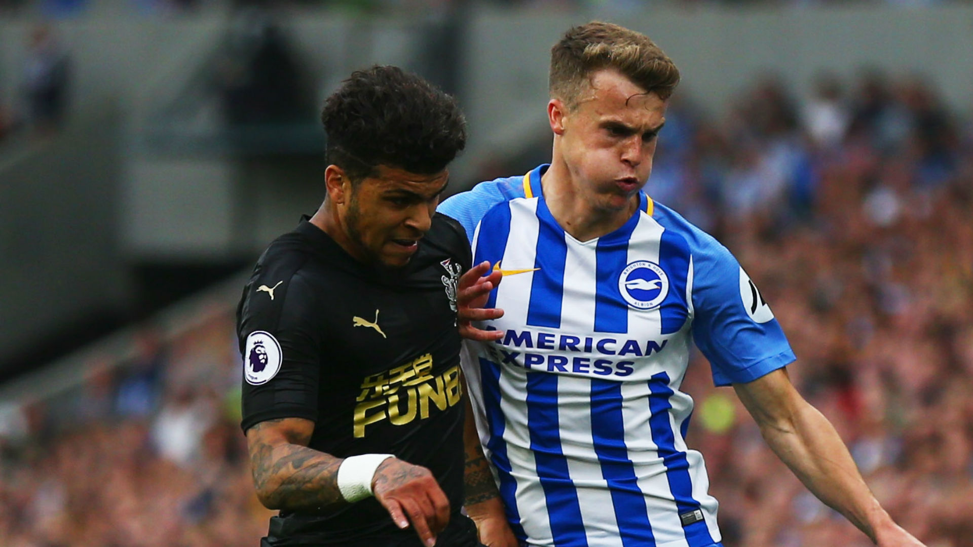 DeAndre Yedlin Solly March Newcastle Brighton