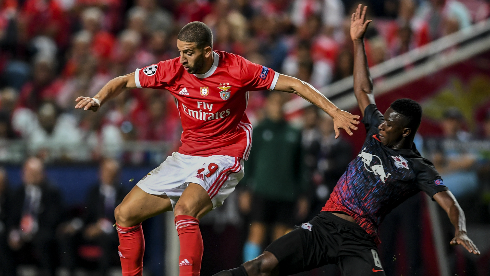 Benfica star Taarabt shifts focus to RB Leipzig's next Champions League game