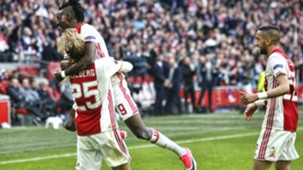 Bertrand Traoré, Kasper Dolberg, Ajax - Olympique Lyon, Europa League, 03042017