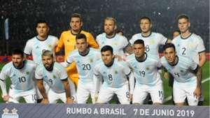 XI Argentina Nicaragua amistoso 07062019