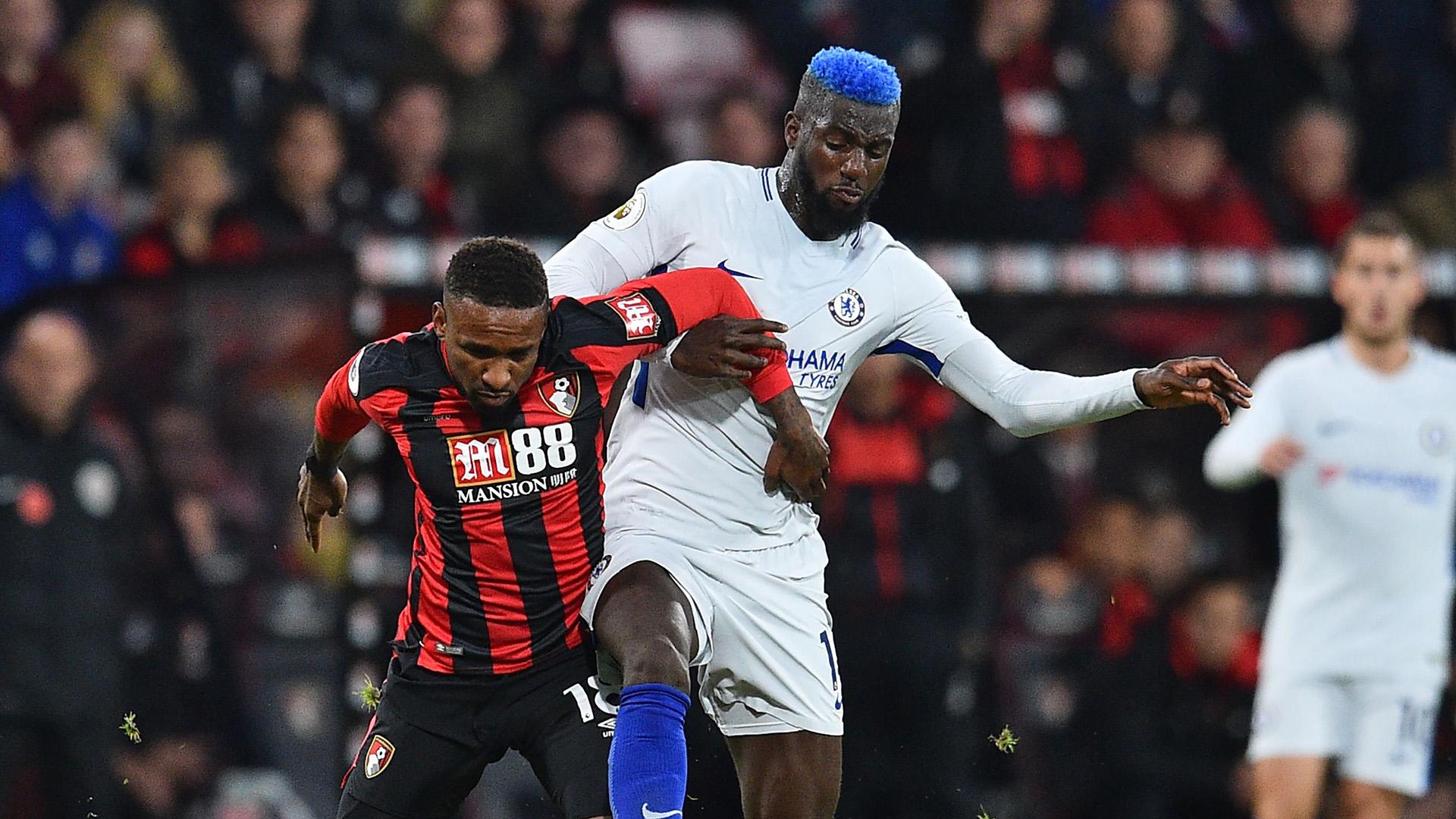 Jermain Defoe Tiemoue Bakayoko Bournemouth Chelsea Premier League
