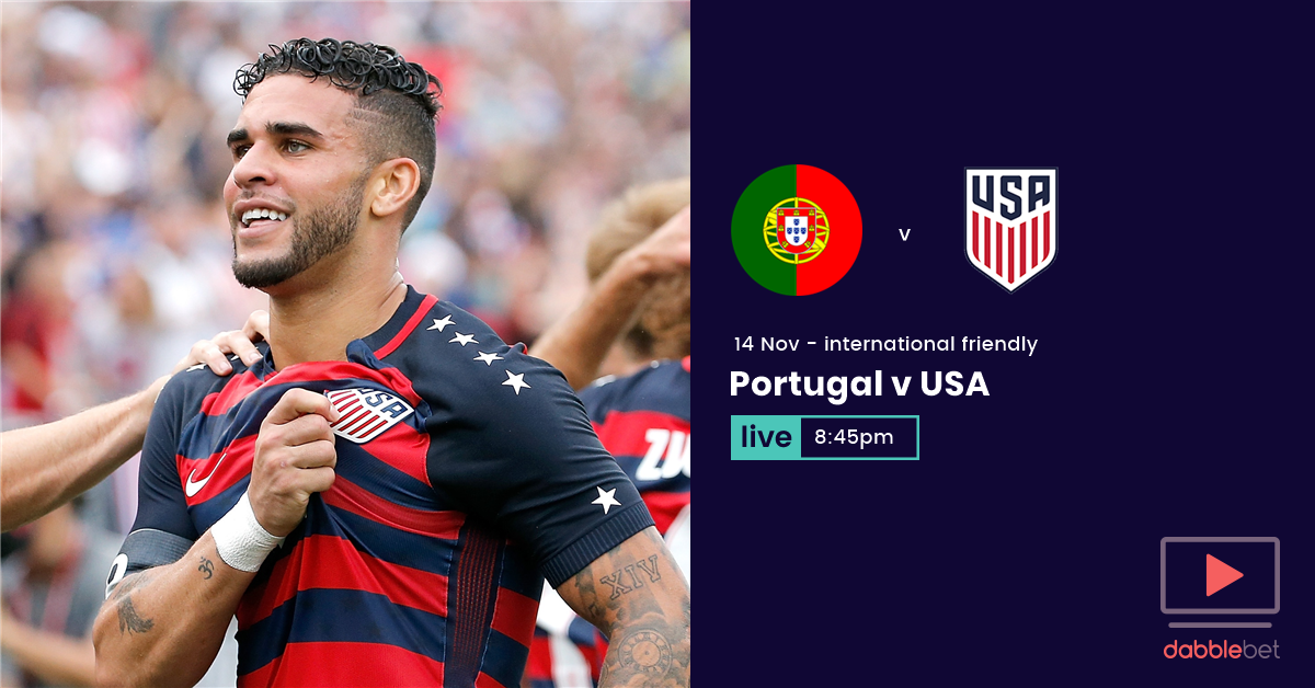 Portugal USA graphic