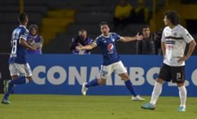 Gabriel Hauche Millonarios - General Díaz Copa Sudamericana 15082018
